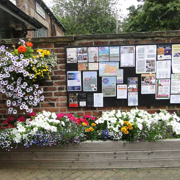 Winterton Town Council noticeboard