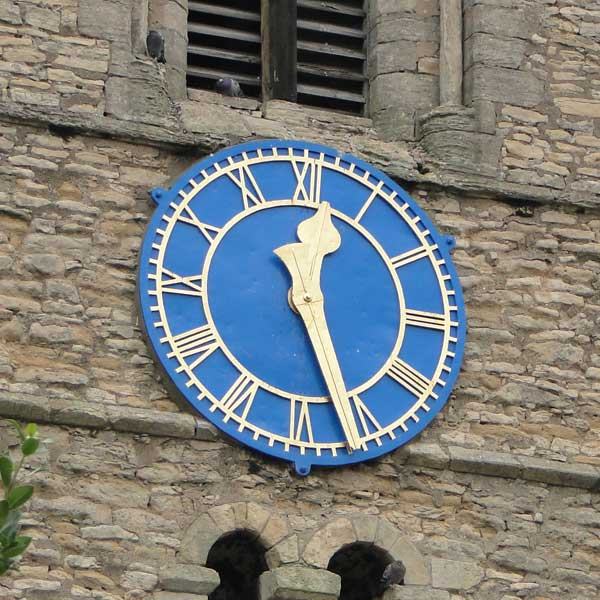The Church clock