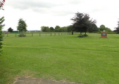 A view of the Winterton Show Ground with no events in progress