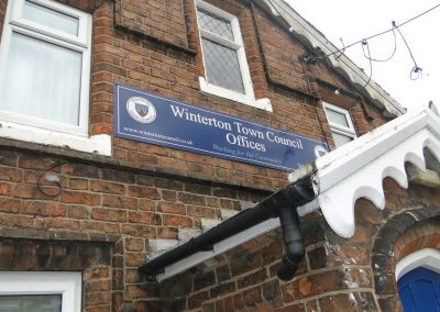 Winterton Town Council offices frontage